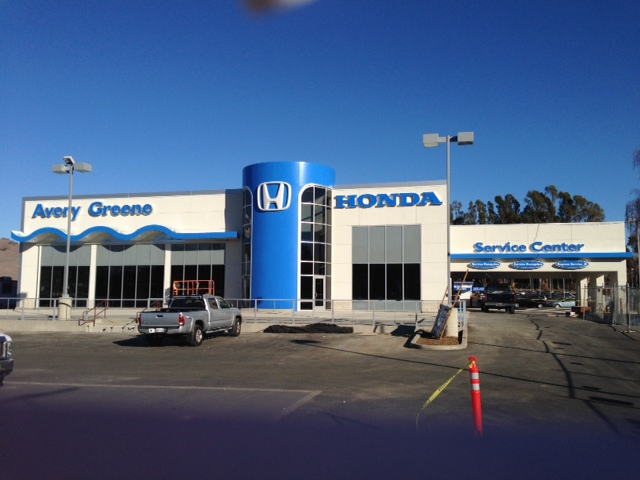 New Avery Greene Honda Facility