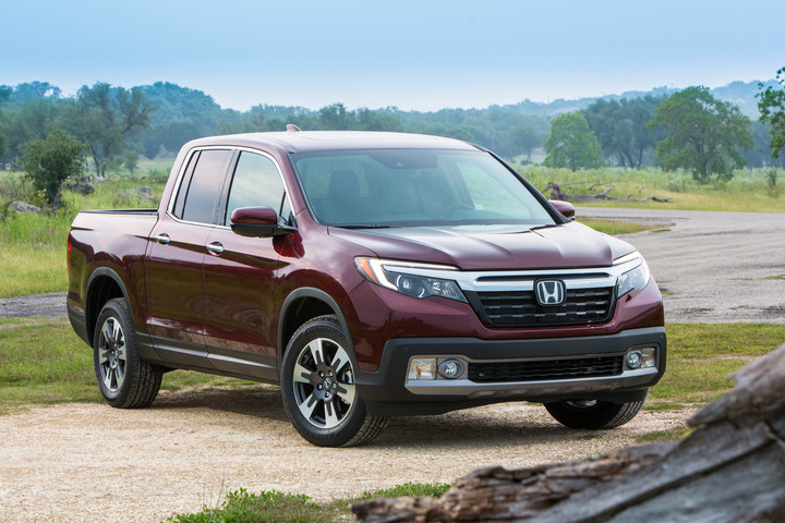 2019 Honda Ridgeline IIHS Top Safety Pick