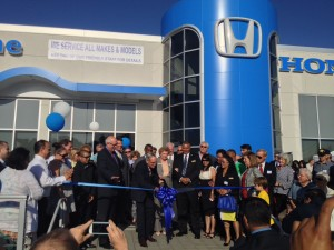 Avery Greene Honda Ribbon Cutting