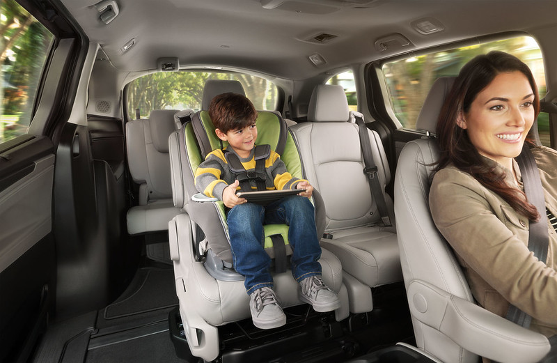 2021 Honda Odyssey Rear Seat Reminder Camera