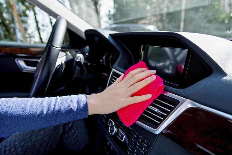 Clean And Sanitize Your Car